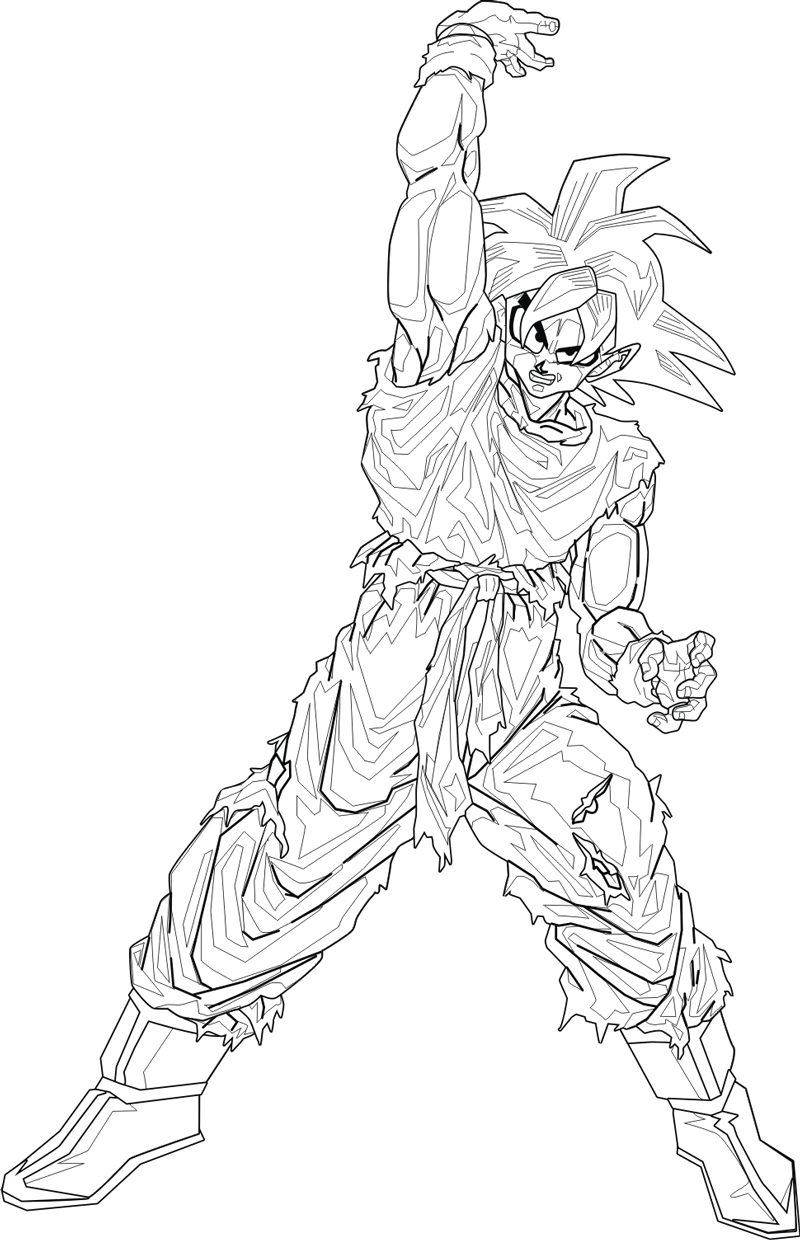 800x1240 Drawing Pictures Of Dragon Ball Z Characters Characters Easy How