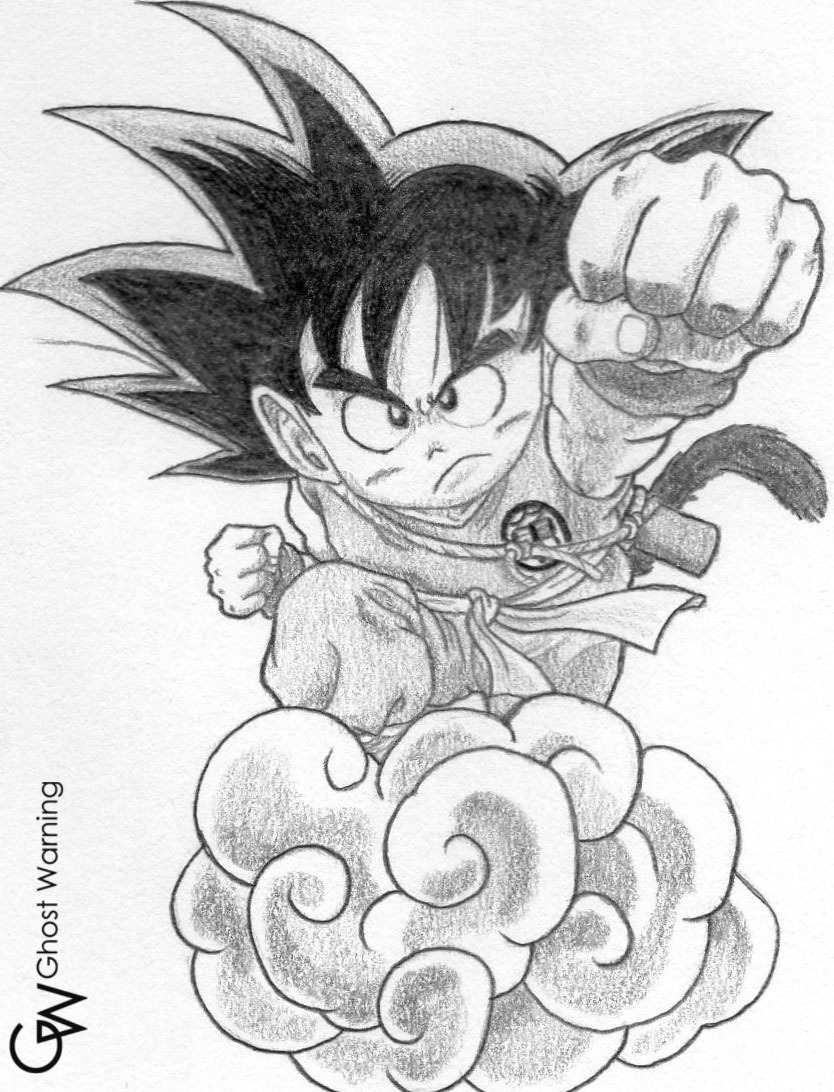 834x1092 Goku