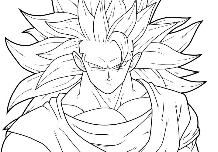 dragon ball z drawing goku at getdrawings com free for personal
