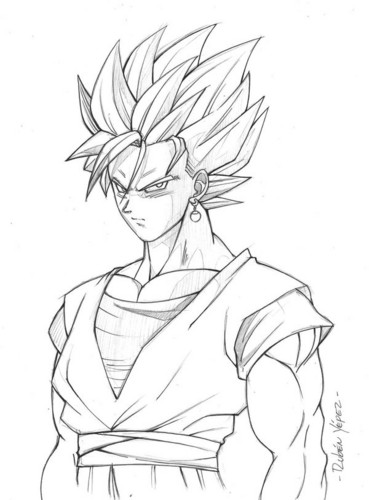 369x500 Goku Images Goku Fan Art Hd Wallpaper And Background Photos (35791706)