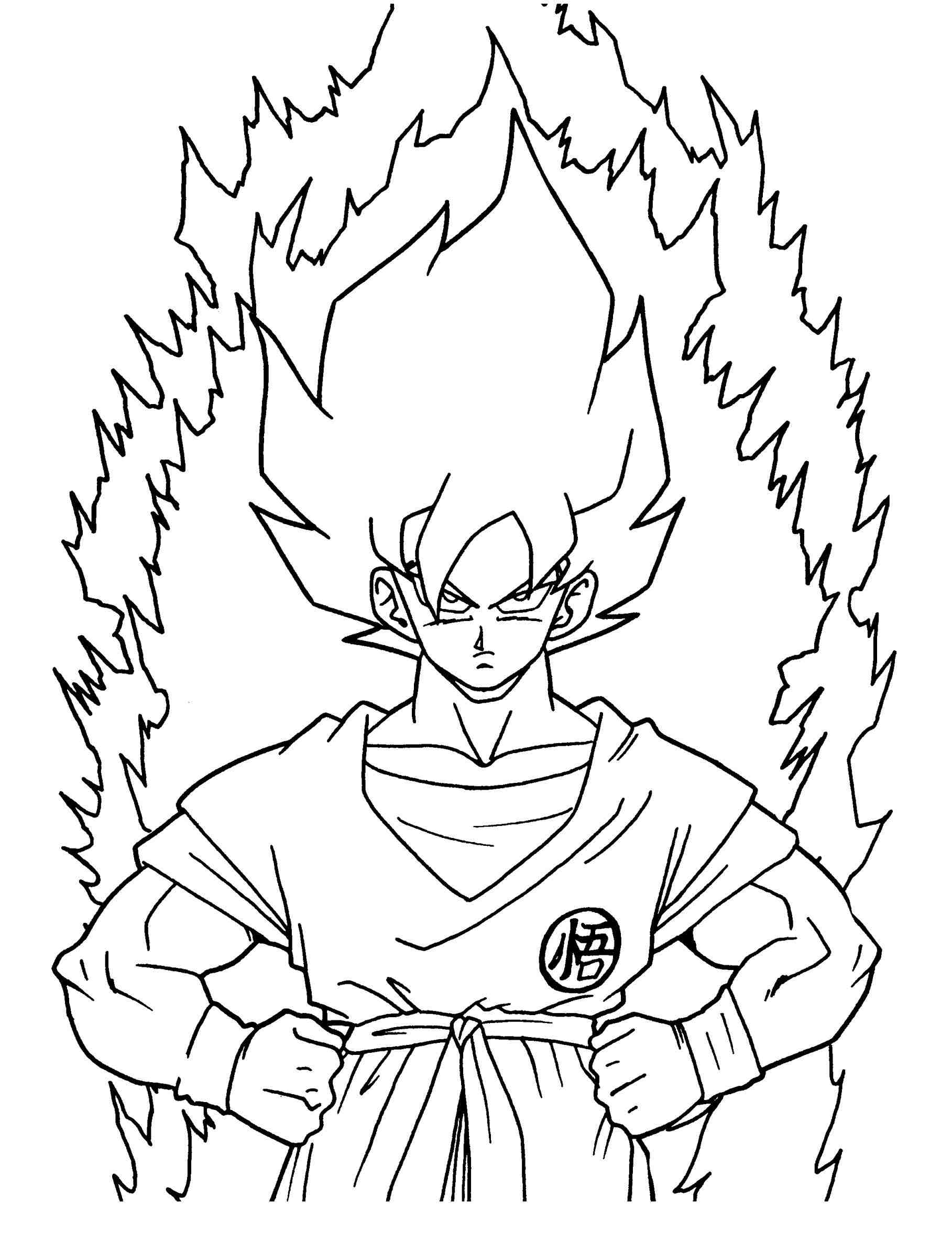 1817x2370 Cool Drawings Of Dragon Ball Z