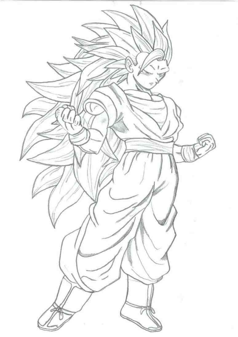 Goku Coloriage Coloriage Goku Super Sayen Dmatech Info