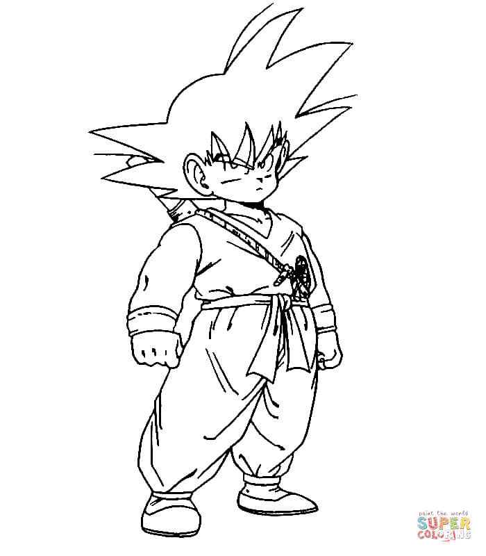 700x800 Dragon Ball Z Coloring Pages Free Coloring Pages