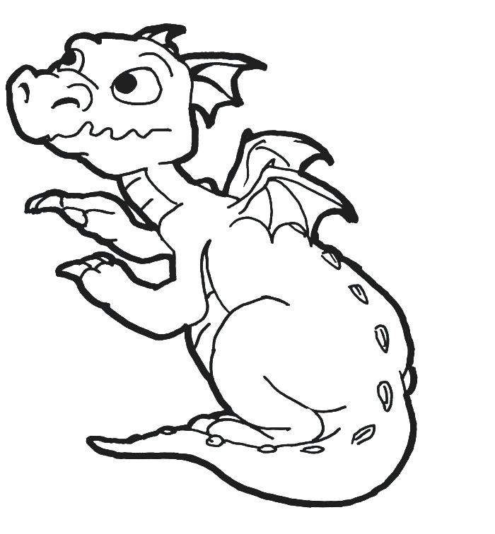 700x756 Baby Dragon Coloring Pages 23 Also Pin Dragon Cute Drawing Baby