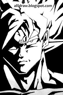 214x320 How To Draw Goku Easy, Step By Step, Dragon Ball Z Characters