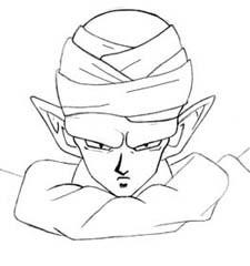 225x240 How To Draw Piccolo (From Dragon Ball Z) Manga University Campus