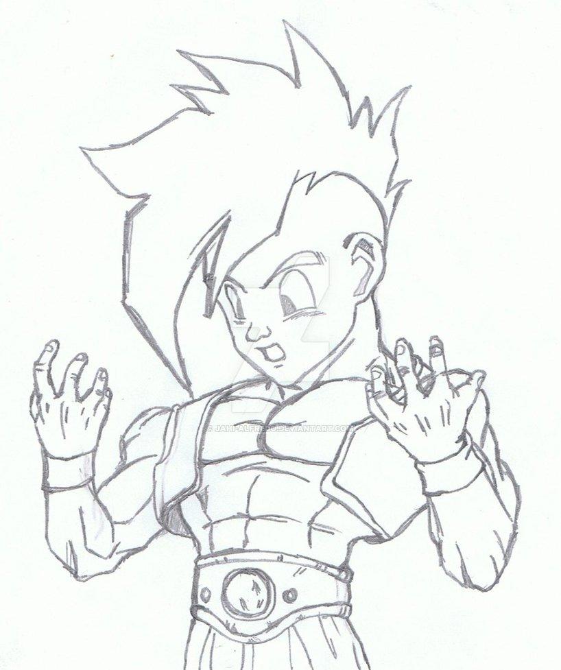 818x977 Basic Uub Drawing By Jahi Alfredo