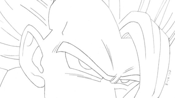 570x320 Dragon Ball Z Kai Drawing How To Draw A Dragon Ball Z Gohan