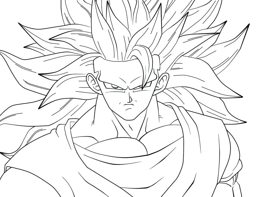 900x675 Dragon Ball Z Ssj 3 Coloring Pages Dragon Ball Z Vegeta Coloring