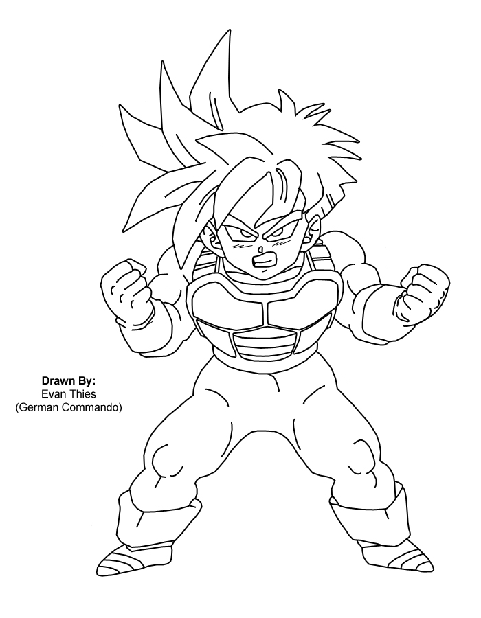 700x900 Super Saiyan Gohan By Germancommando