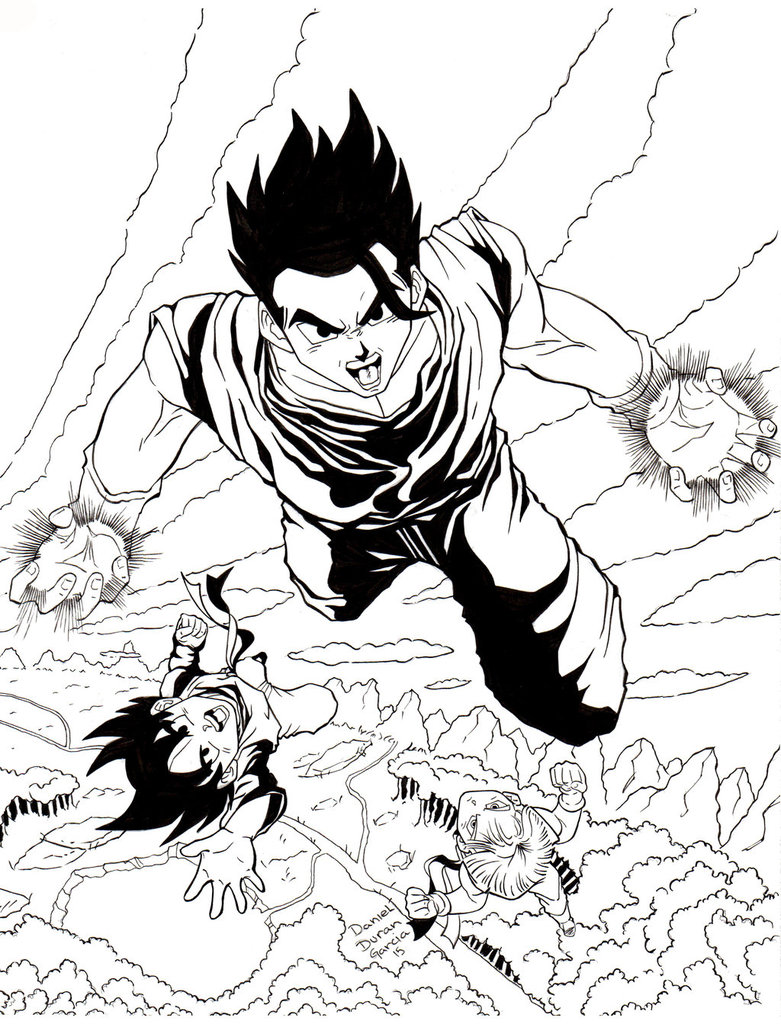 781x1024 Dragon Ball Z Gohan, Goten Trunks By Dandg