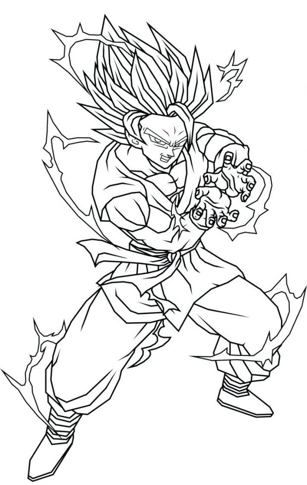Dragon Ball Z Goku Drawing at GetDrawings.com | Free for ...
