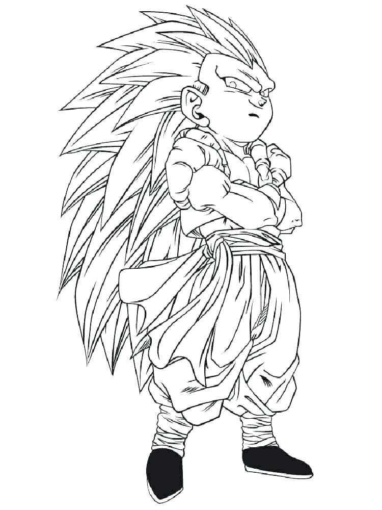Dragon Ball Z Goku Drawing at GetDrawings