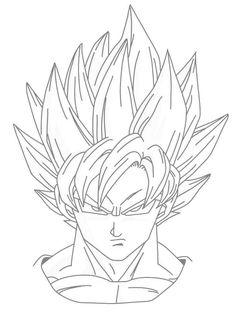 236x318 Dbz Drawing Goku San Dbz Goku Super Saiyan Drawing