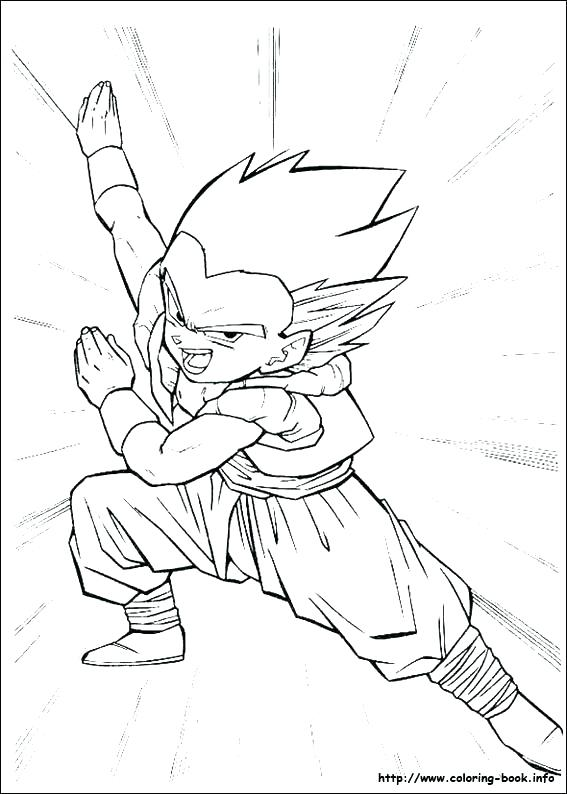 567x794 Coloring Pages Dragon Ball Z Picture Pictures Trunks And Join