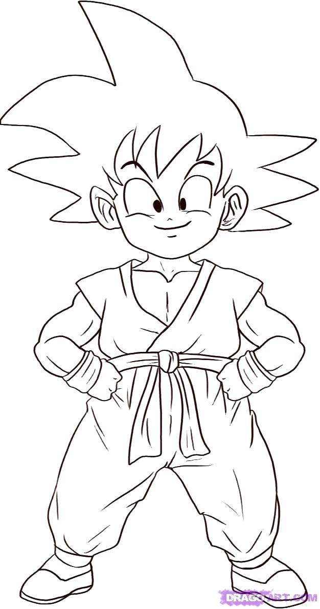 626x1189 Fresh Goku And Vegeta Coloring Pages Print Dragon Ball Z Kids