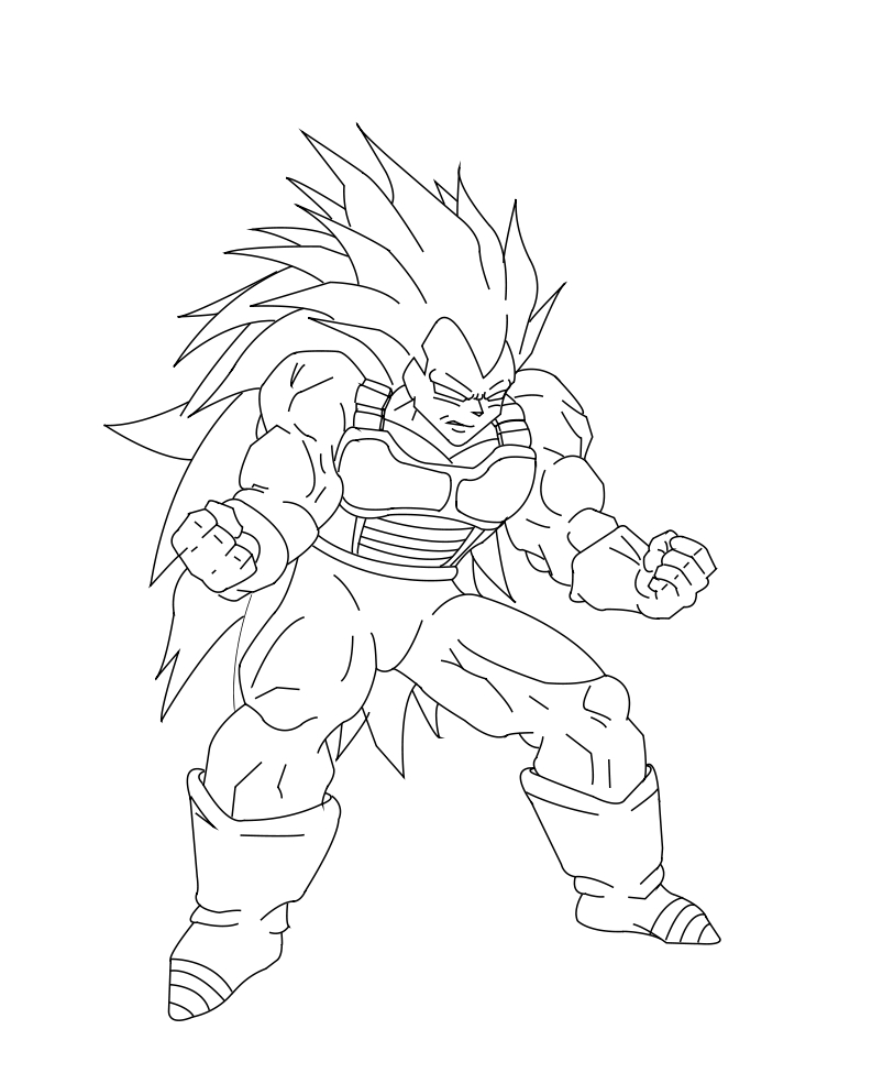 Dragon Ball Z Vegeta Drawing at GetDrawings.com | Free for personal ...