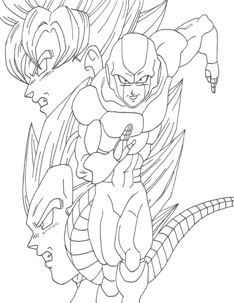 Dragon Ball Z Vegeta Drawing at GetDrawings.com | Free for personal ...