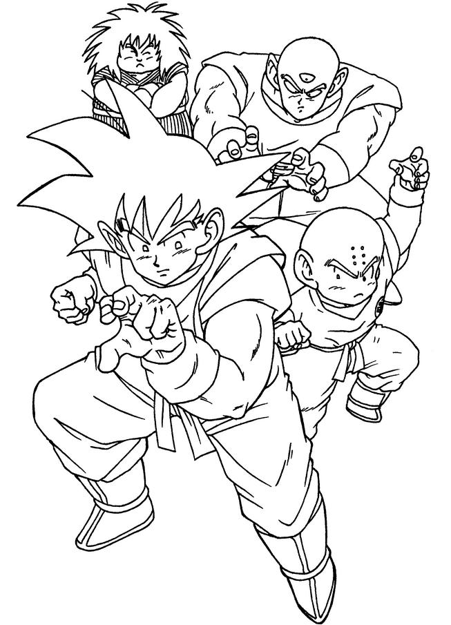 653x905 Dragon Ball Z Coloring Pages Coloring Pages For Kids