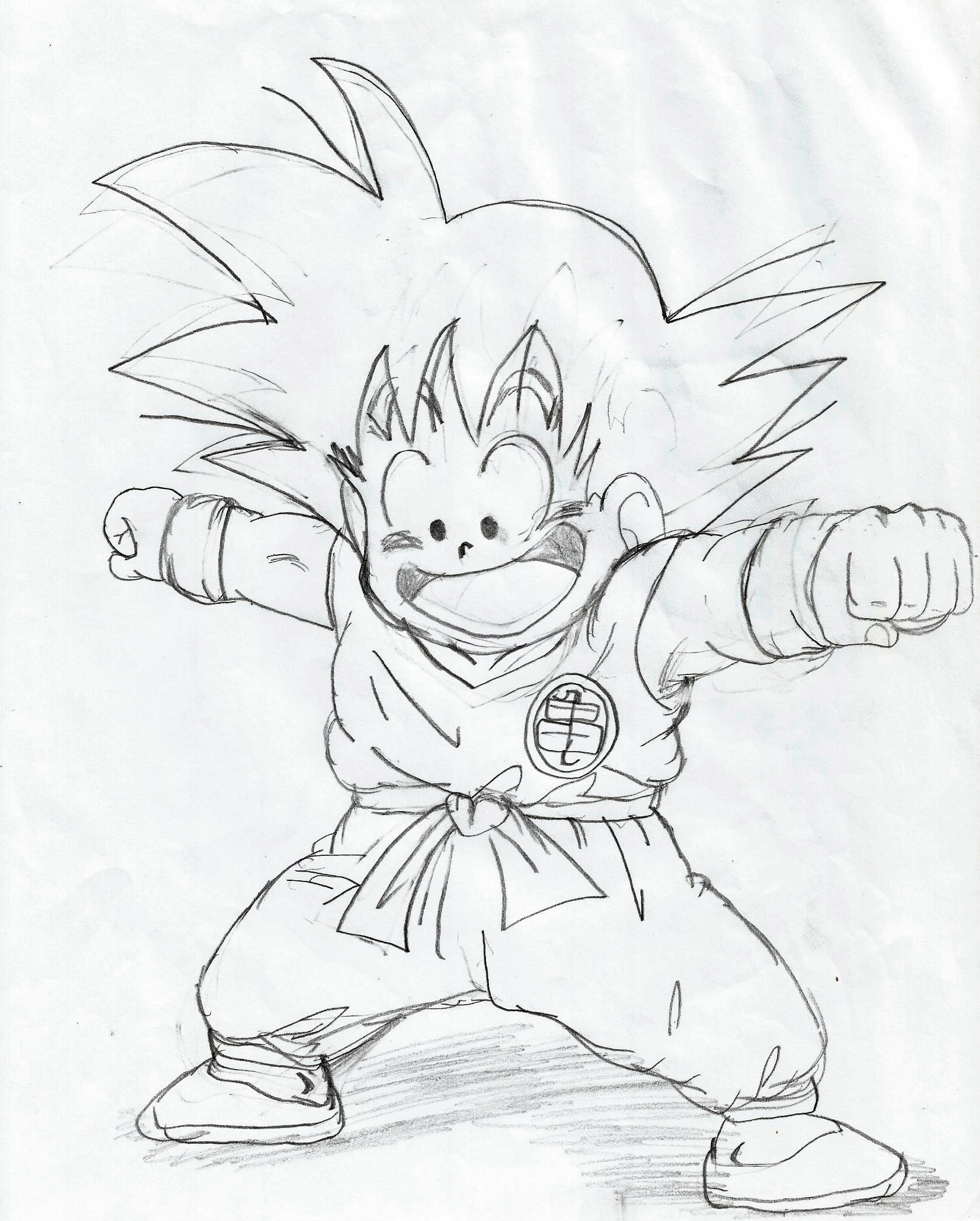 1686x2100 Drawings Dragon Ball Z My Dragon Ball Drawings 8) Drawings