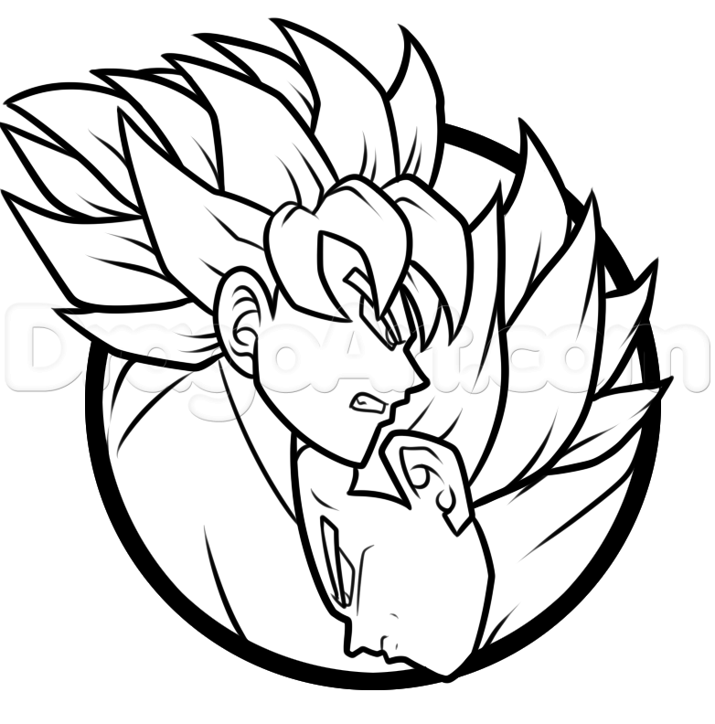 782x792 How To Draw A Goku And Vegeta Yin Yang Step 8 Drawing Dbz