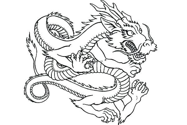 600x403 Dragon Printable Coloring Pages Coloring Pages Dragon Printable
