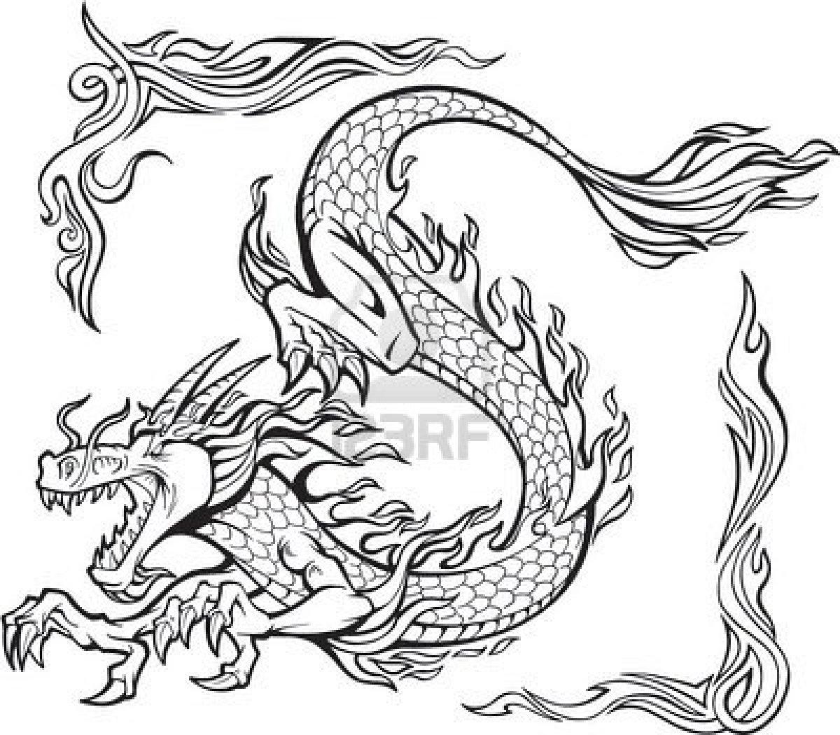 Dibujos De Dragones Para Imprimir Y Colorear picture gallery