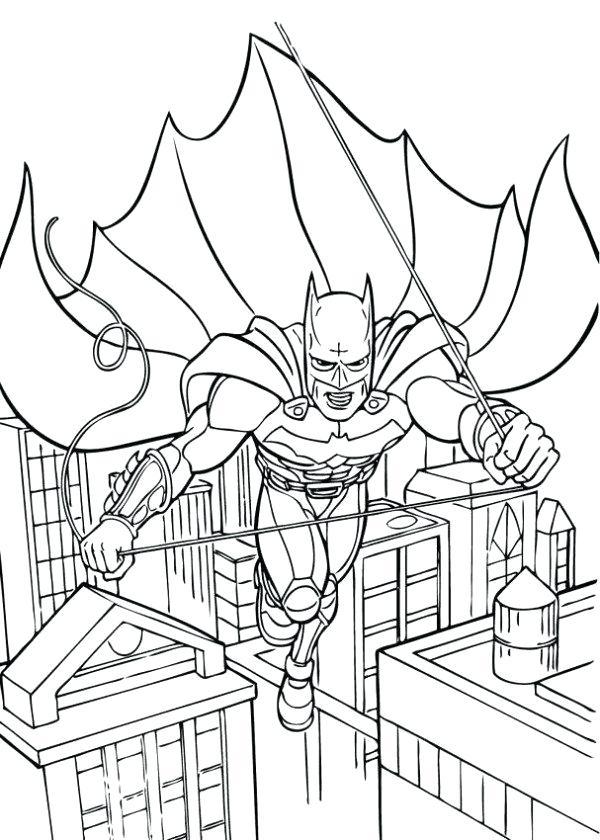600x840 City Coloring Pages Batman City Coloring Pages Dragon City
