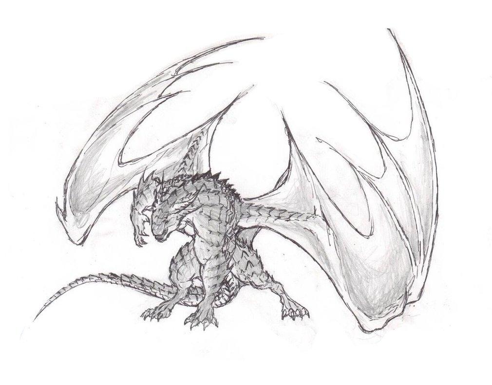 Dragon Claw Drawing