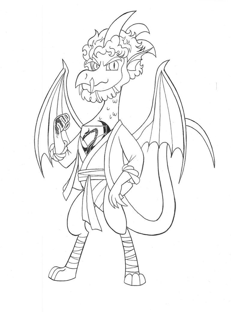770x1038 Mlp Dragon Danny Rand Aka Iron Claw By Jmkplover