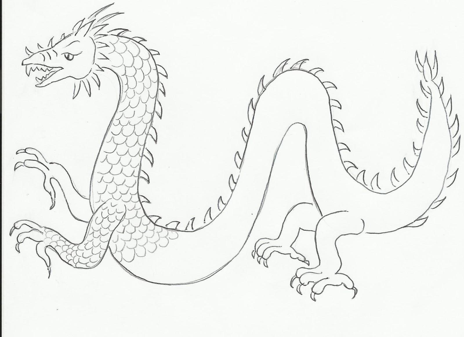 1600x1161 Draw A Dragon Art Class Ideas