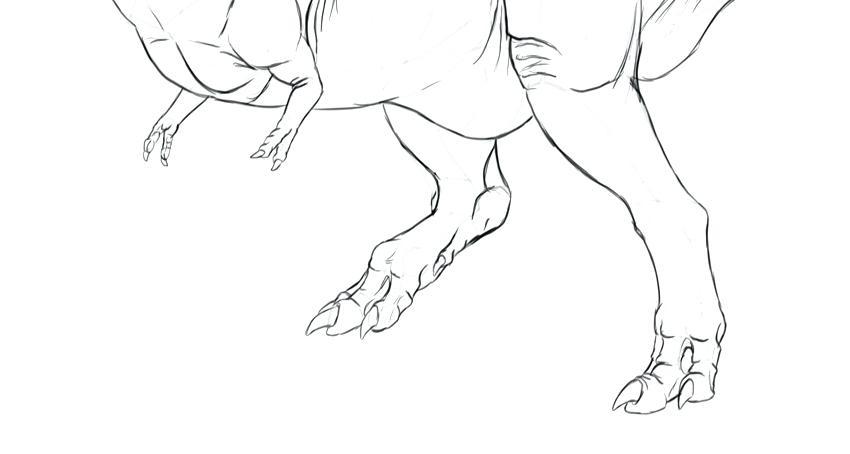 850x454 Easy To Draw Dinosaur Drawing Dinosaur Easy Draw Cartoon Dinosaur