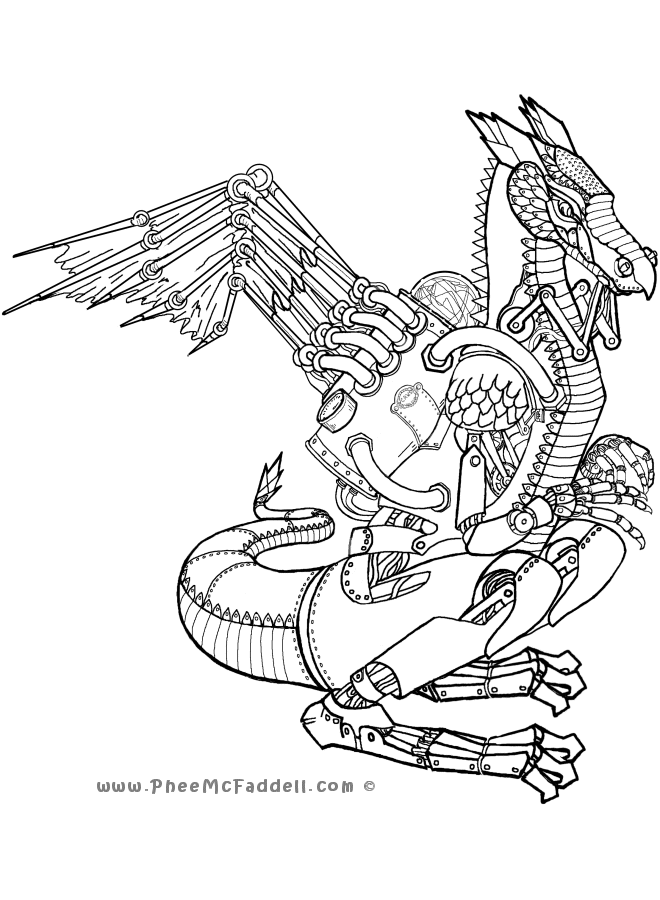 660x900 Claws Coloring Page