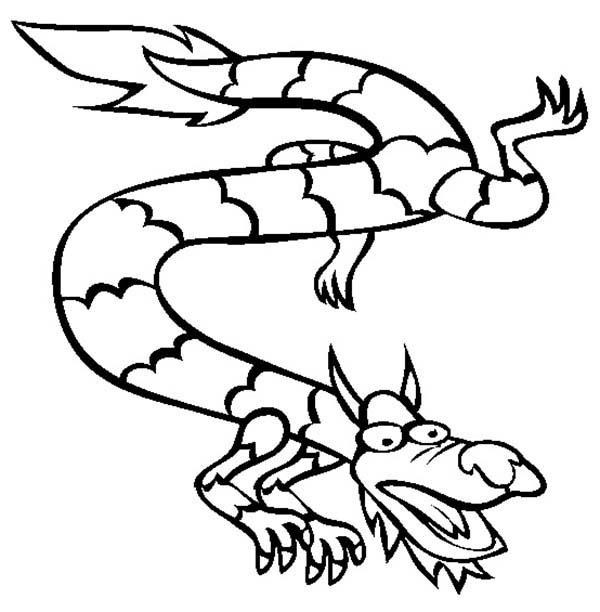 600x612 Chinese Dragon Netart