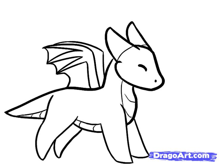 736x552 Dragon Drawing Easy The 25 Best Easy To Draw Dragons Ideas