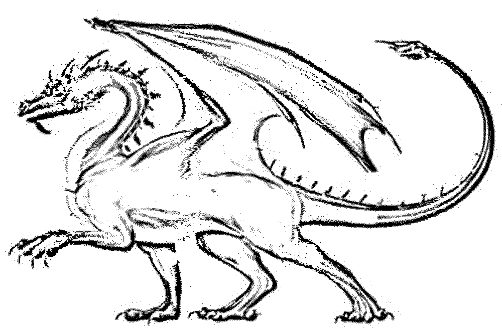 1000x670 Color The Dragon Coloring Pages In Websites