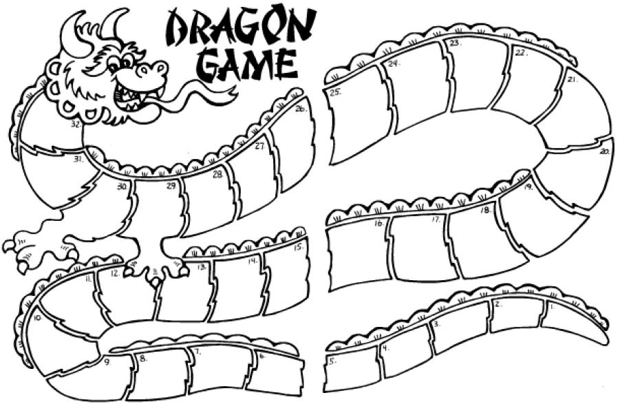 898x587 Ideas To Help You Teach Chinese Dragon Board Game