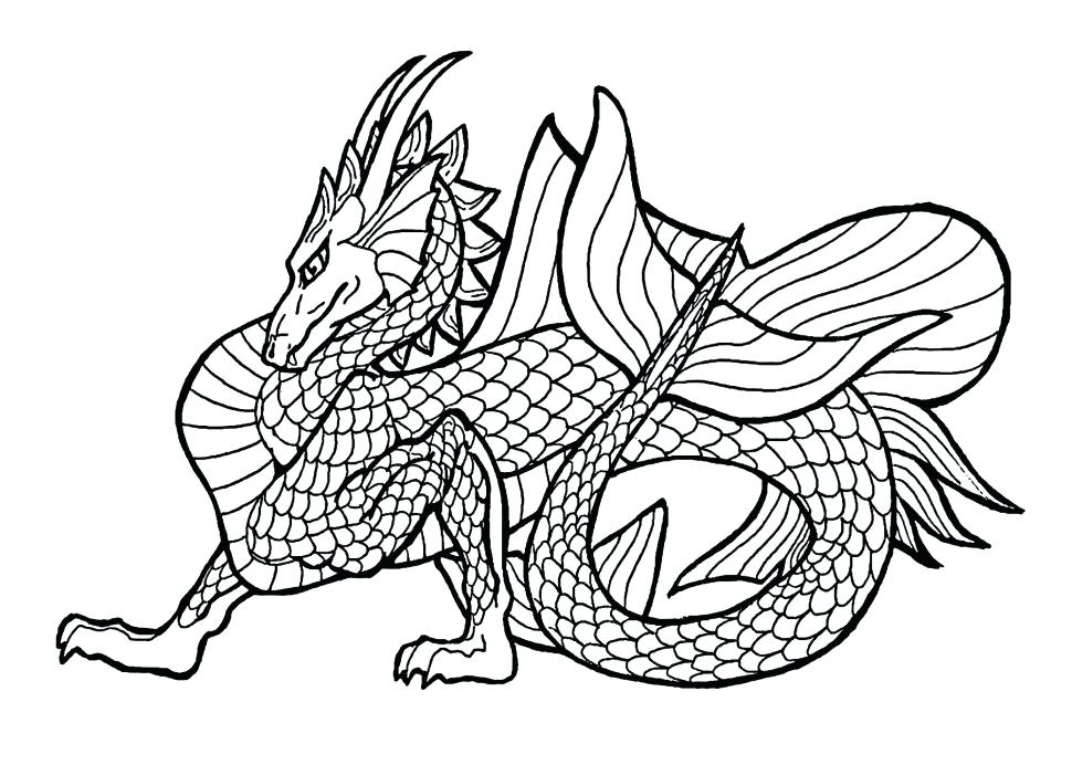 970x692 Chinese Dragon Coloring Pages Dragon Coloring Dragon Colouring