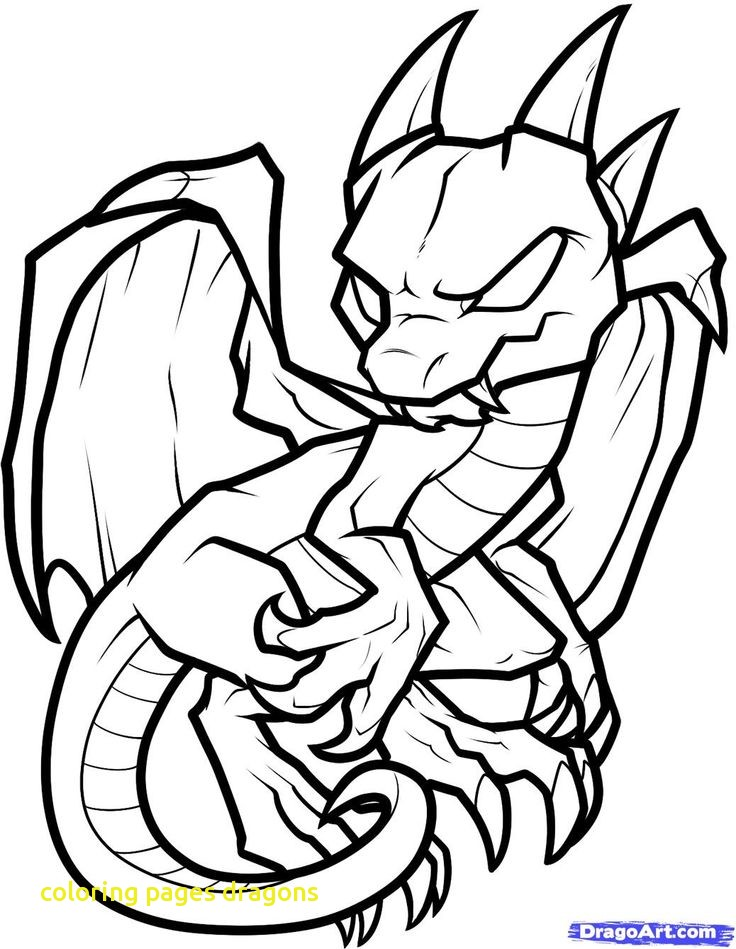 736x949 Coloring Pages Dragons With Dragon Drawing Coloring Pages