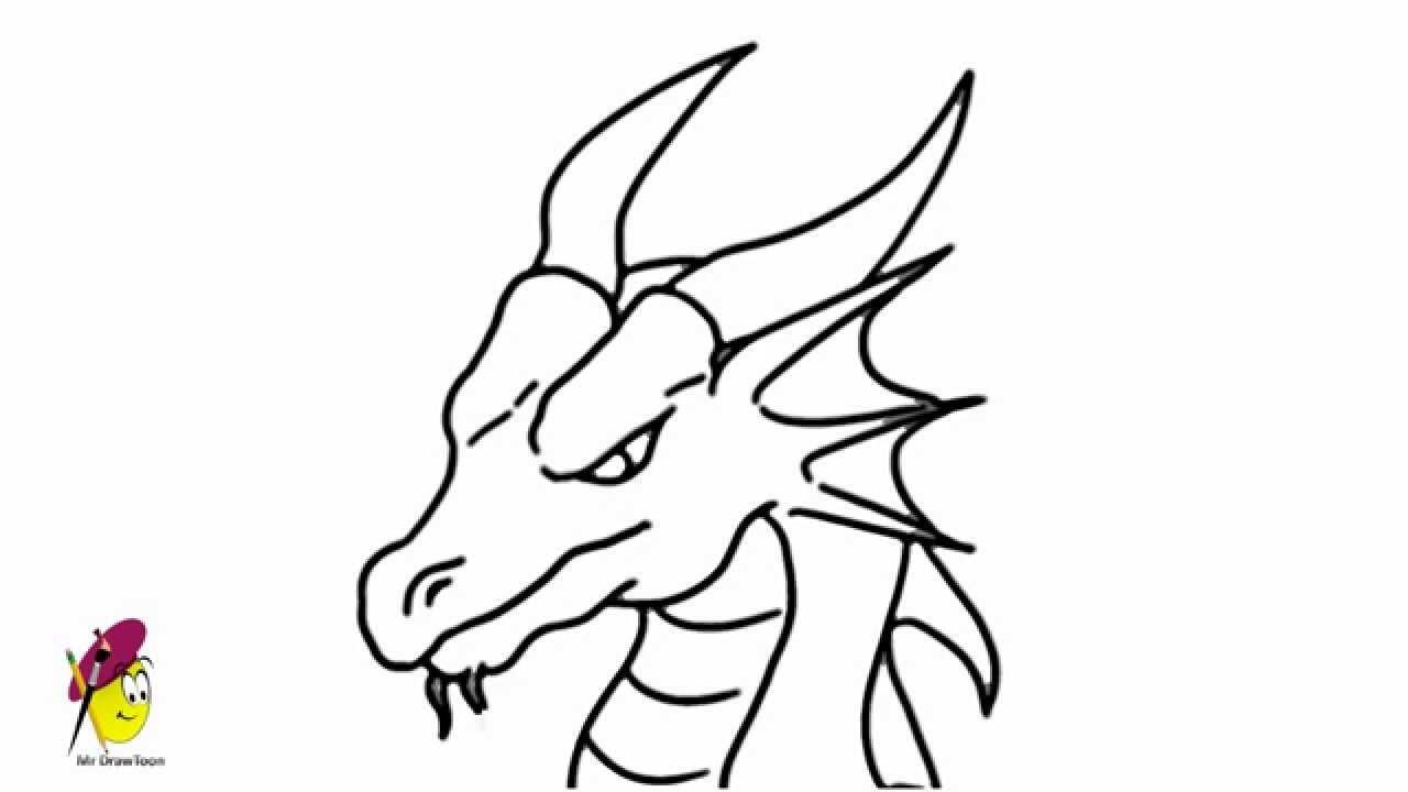 1280x720 Dragon Face