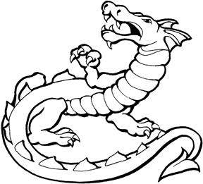 288x261 Pencil Drawings Of Dragons