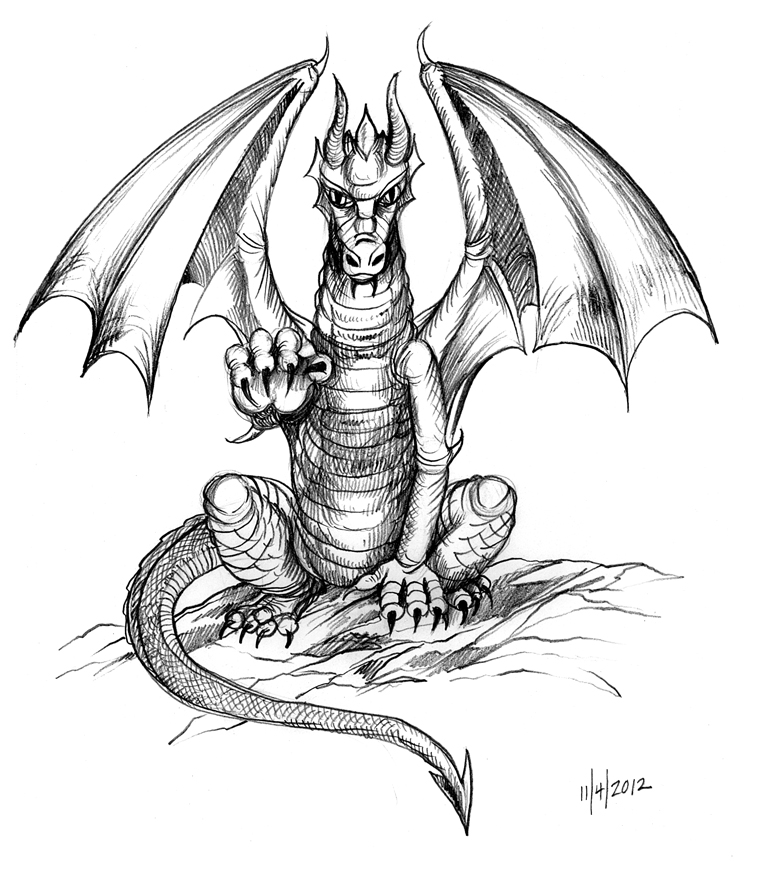Dragon Drawing Pictures