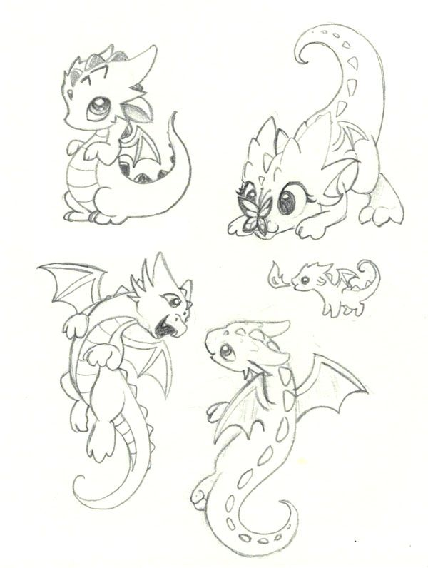 600x796 6 Just some playful kid dragons! D More