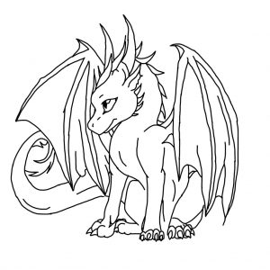 300x300 How To Draw A Baby Dragon Step By Dragons Aabbfdfcfbff adult