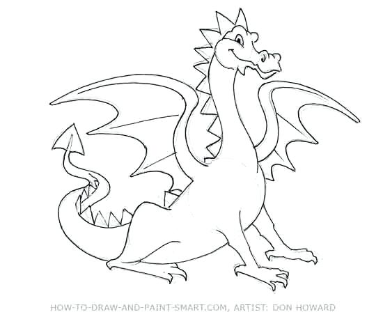 550x458 Puff The Magic Dragon Coloring Pages Full Size Of Coloring Dragon