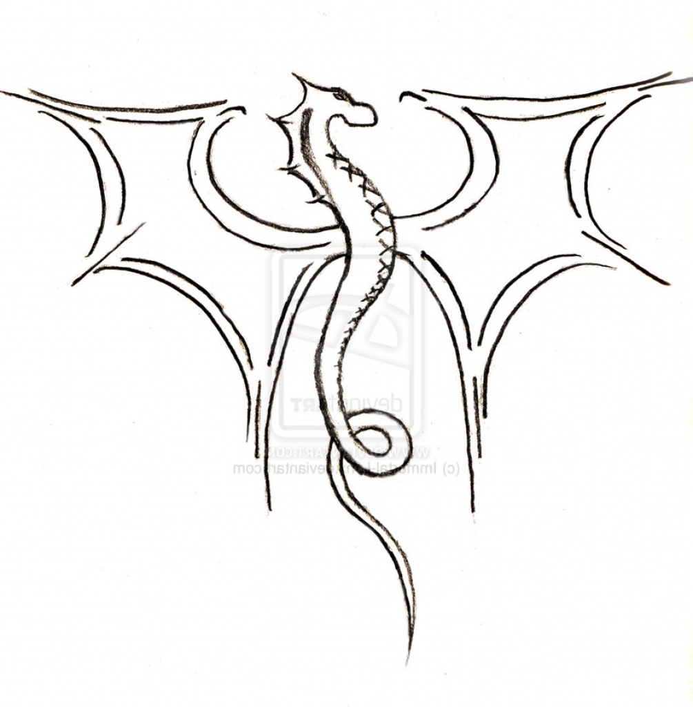 1005x1024 Simple Dragon Drawing 1000 Images About Drawings On Pinterest