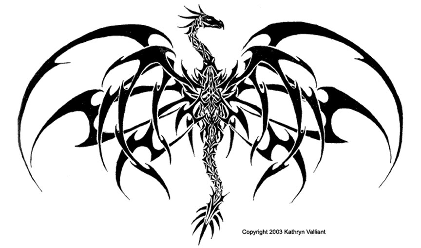 Dragon Drawing Tattoo At Getdrawings Free For Personal Use