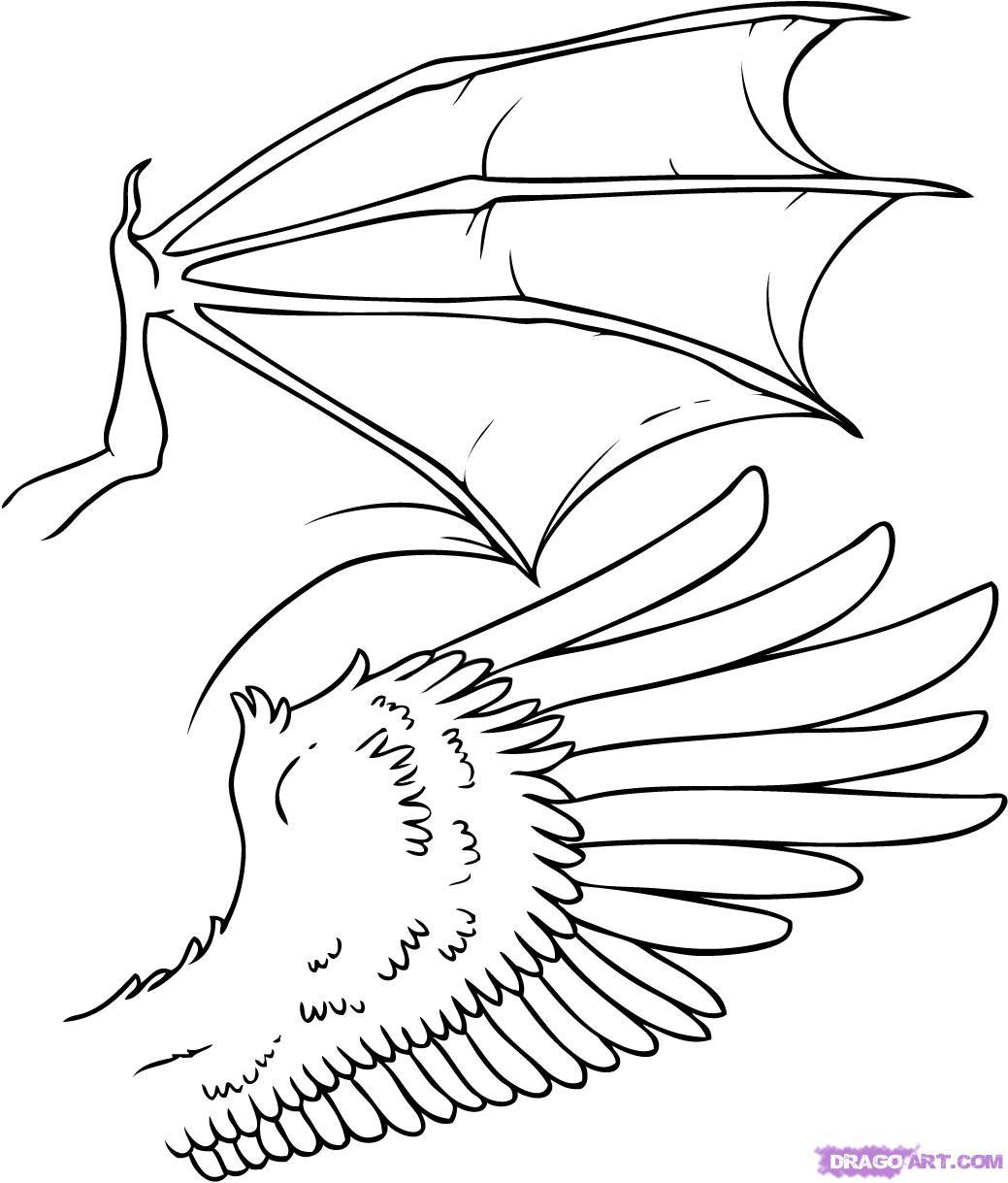 1039x1219 Drawn Devil Dragon