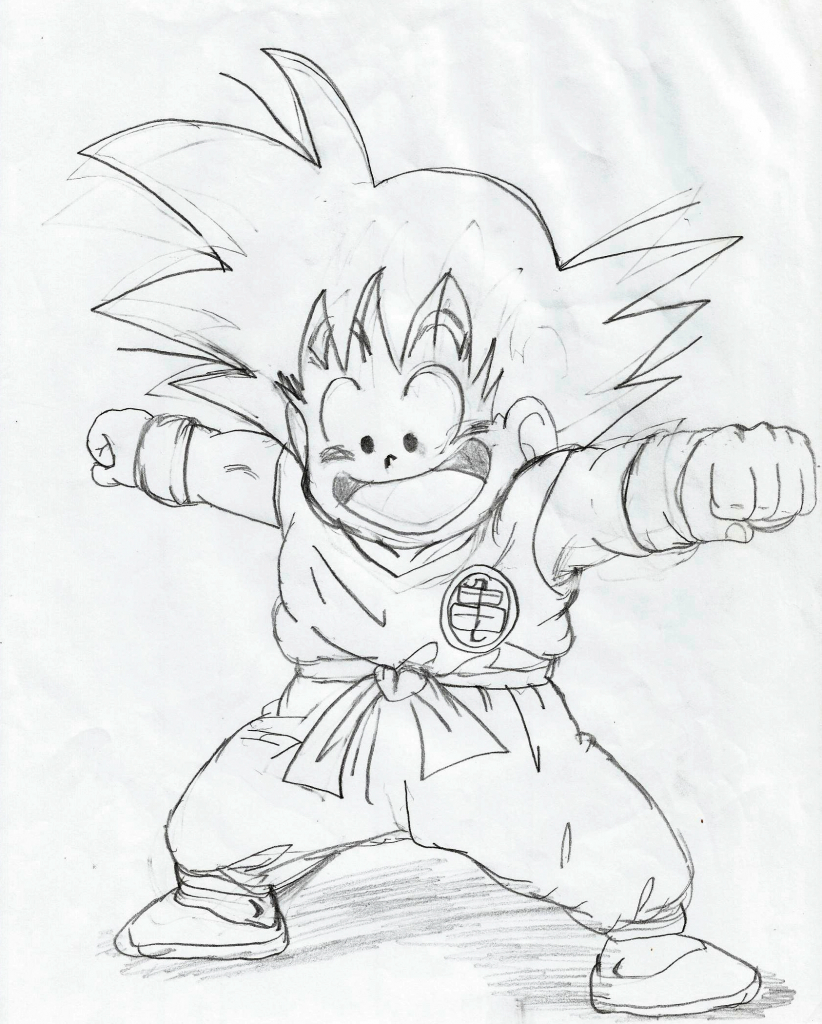 822x1024 How Do You Draw Dragon Ball Z How To Draw Gogeta From Dragon Ball