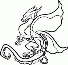 236x225 How To Draw A Dragon Step 6 Drawing Lesson Ideas